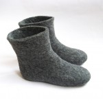 Pretty grey  isotoner slippers Product Ideas , Wonderful Slipper Booties Collection In Shoes Category
