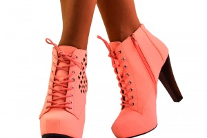 Shoes , Gorgeous High Heels Pink Peach Product Ideas : Pretty  high heels pink Product Picture