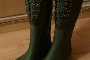 Shoes , Fabulous Cebo Rubber Boots product Image : Pretty  rubber boots for women
