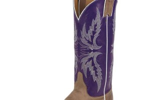 600x750px Charming Purple Cowboy Boots Product Image Picture in Shoes