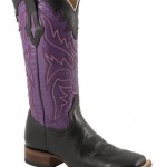 Purple Wide Calf Cowboy Boots for Women Photo Collection , Charming Wide Calf Cowboy Boots For Women Photo Gallery In Shoes Category