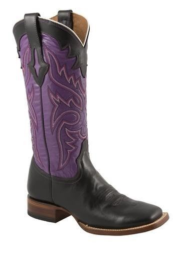 Shoes , Charming Wide Calf Cowboy Boots For Women Photo Gallery : Purple Wide Calf Cowboy Boots For Women Photo Collection