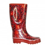 Red  rubber boots for women , 11 Pretty  Women Rubber Boots Product Ideas In Shoes Category