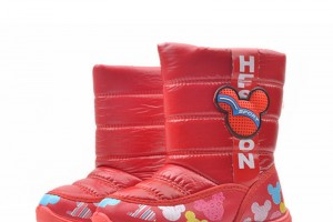 Shoes , Gorgeous Mickey Mouse Rain Boots Product Lineup : Red  short rain boots Collection