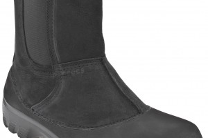Shoes , Gorgeous Croc Boots Product Ideas :  Stunning black crocs winter boots Collection