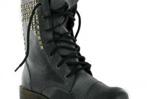 Shoes , Fabulous  Target Combat Boots Product Picture : Stunning black leather combat boots