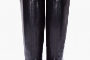Shoes , Charming Boots For Women product Image : Stunning black wide calf boots for women