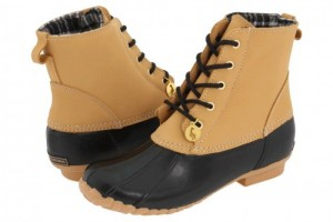 Shoes , Beautiful Sporto Duck Boots For Women Collection : Stunning  brown  leather boots for women