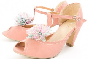 Shoes , Gorgeous High Heels Pink Peach Product Ideas : Stunning  pink high heels high