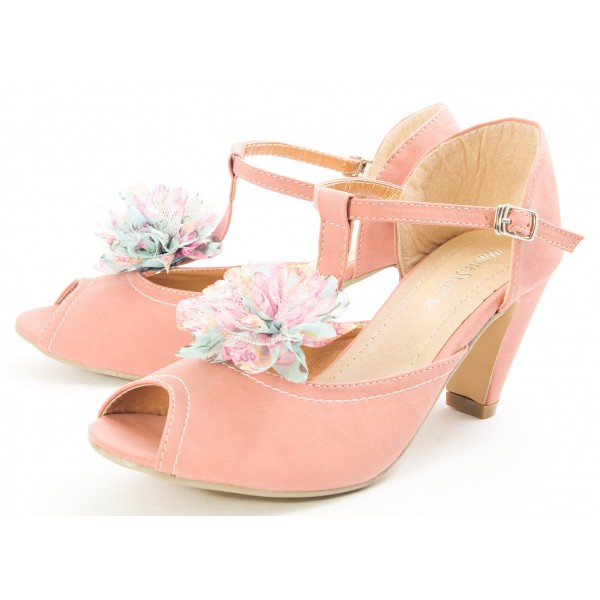 Shoes , Gorgeous High Heels Pink PeachProduct Ideas : Stunning  Pink High Heels High