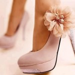 Stunning pink  womens high heels Collection , Gorgeous High Heels Pink Peach Product Ideas In Shoes Category