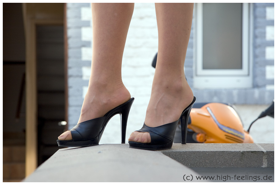 Photo Gallery Of High Heel Mules Product Image in Shoes