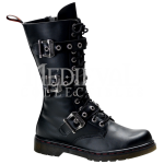 Three Buckle Gothic Combat Boots , Lovely Gothic Combat Boots Product Ideas In Shoes Category