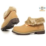 Timberland Women Roll Top Boots Wheat , Lovely Timberlands Women product Image In Shoes Category