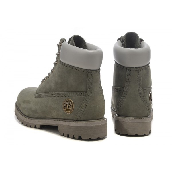 timberland women's 6 inch premium boot grey