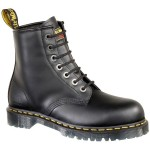 Unique black dr marten boots , Charming Doc Marten Boots product Image In Shoes Category