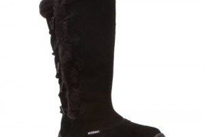 Shoes , Beautiful Top Rated Snow Boots For Women  Product Image : Unique black  winter boots womens