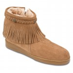 Unique brown  short moccasin boots  product Image , Wonderful Moccasin Boots Product Ideas In Shoes Category