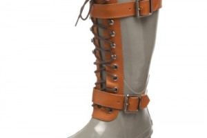 Shoes , Awesome Womens Rain Boots Product Picture : Unique grey  short rain boots