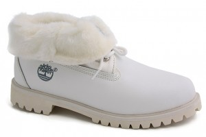 Shoes , Beautiful Timberland Womens Boot Product Image : White Timberland Roll Top Boots Womens