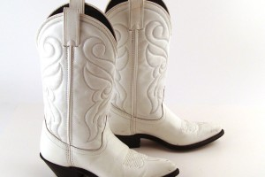 1000x1000px Charming White Cowboy BootsPhoto Gallery Picture in Shoes