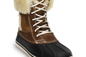 Shoes , Excellent Womens Duck Boots Product Ideas : Womens All Cast Leather Duck Boot  Product Lineup