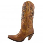 Wonderful Brown Cowboy Boots , Gorgeous Womens Cowboy Boots Product Image In Shoes Category