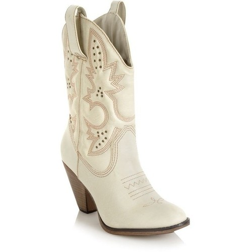 Charming White Cowboy Boots Photo Gallery in Shoes
