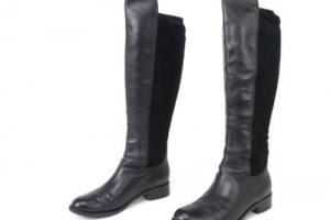 Shoes , Stunning Cole Haan Nike Air Black Leather Boots Collection : Wonderful  black nike cole haan