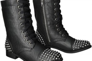 500x500px Fabulous  Target Combat BootsProduct Picture Picture in Shoes