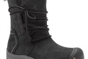 Shoes , Gorgeous Warmest Womens Winter Boots Collection : Wonderful black womens winter snow boots