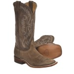 Wonderful brown  cheap cowboy boots , Awesome  Classy Square Toed Cowboy Boots For Women  Product Image In Shoes Category