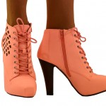 Wonderful brown  high heel stores Product Ideas , Gorgeous High Heels Pink Peach Product Ideas In Shoes Category