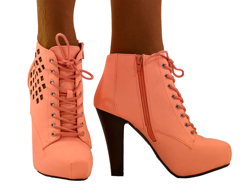 Shoes , Gorgeous High Heels Pink PeachProduct Ideas : Wonderful Brown  High Heel Stores Product Ideas