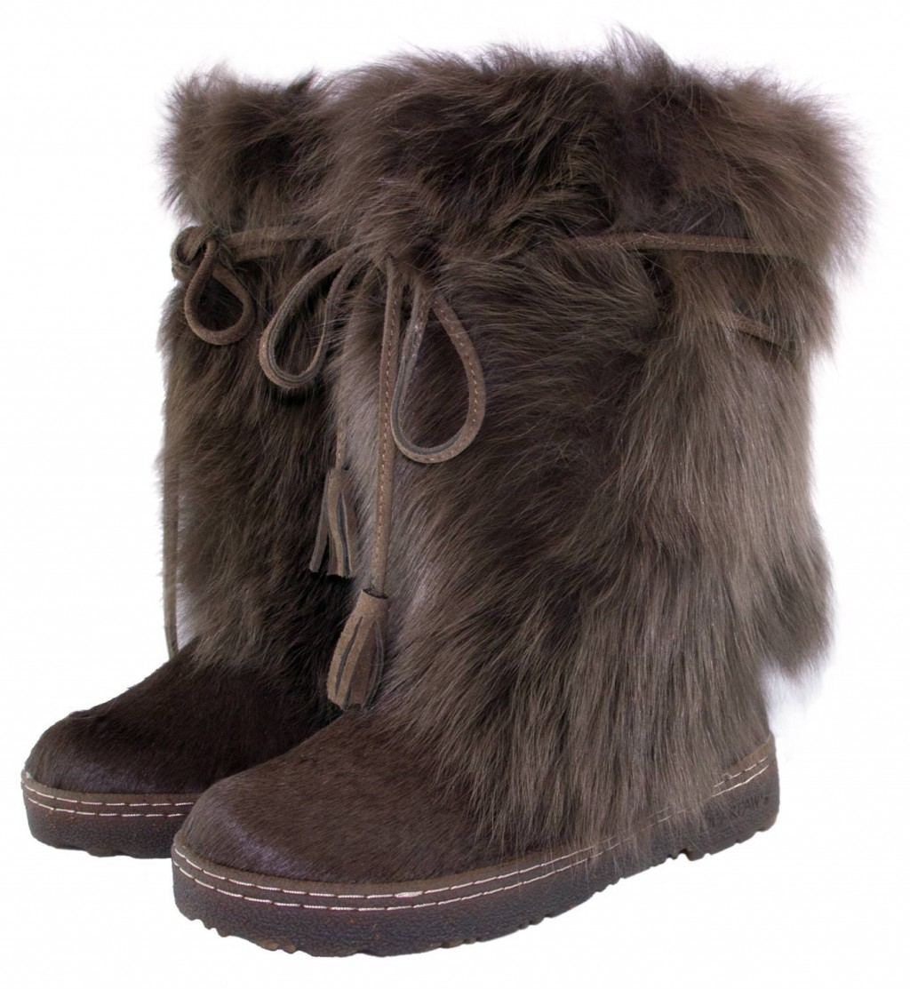 Shoes , Lovely  Furry BootsProduct Lineup :  Wonderful Brown Mid Calf Boots Product Image