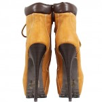 Wonderful brown  timberland style heel boots , Wonderful  Timberland Style Heels Collection In Shoes Category