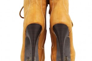 Shoes , Wonderful  Timberland Style Heels Collection : Wonderful brown  timberland style heel boots