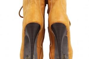 Shoes , Wonderful  Timberland Style HeelsCollection : Wonderful brown  timberland style heel boots