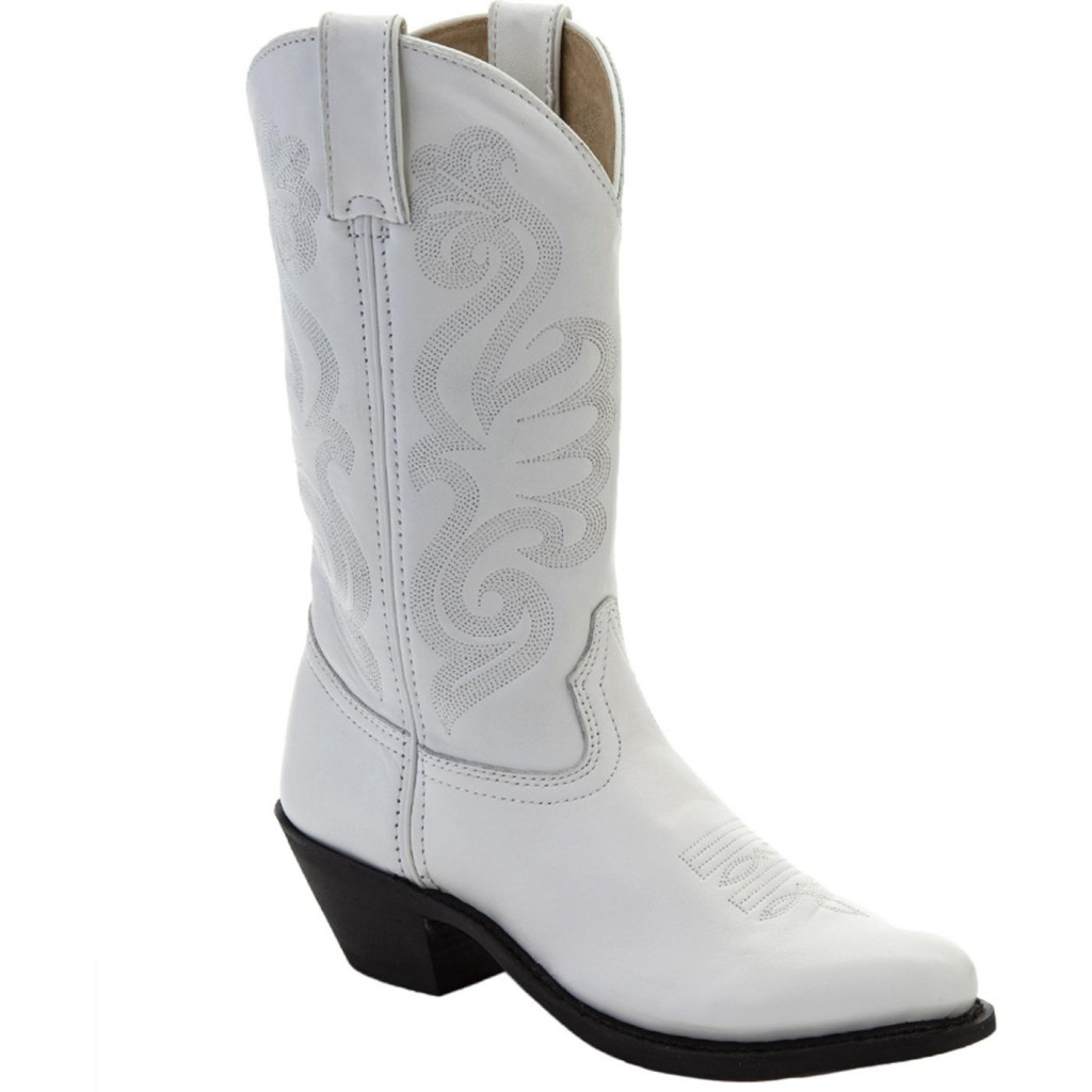 Shoes , 13 Excellent White Cowgirl BootsProduct Picture : Wonderful White  Kids Cowgirl Boots Product Image