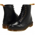 black Doc Marten 8 Eye Boot Product Picture , Charming Doc Marten Boots product Image In Shoes Category