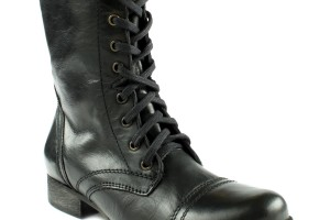 Shoes , Charming Boots For Women product Image : black Steve Madden Troopa Boots
