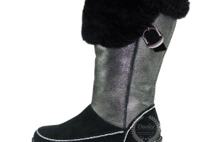 Shoes , Awesome Leather Boots For Women Product Picture : black Women Winter Leather Boots Collection
