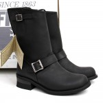 Black Biker Boots For Women Product Lineup , Beautiful Black Moto Boots For Women  Product Ideas In Shoes Category