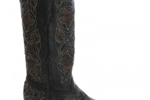 Shoes , 13 Excellent White Cowgirl Boots Product Picture :  black fashion cowgirl boots Collection
