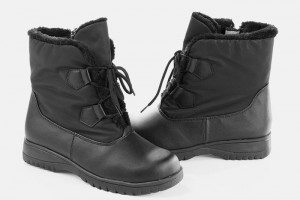 Shoes , Beautiful  Totes Snow Boots Product Picture : black  fashionable snow boots Collection