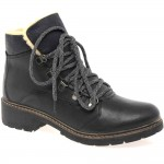 black  flat ankle boots  product Image , 12 Lovely Womens Ankle Boots Collection In Shoes Category