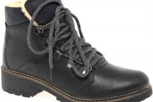 Shoes , 12 Lovely Womens Ankle Boots Collection : black  flat ankle boots  product Image