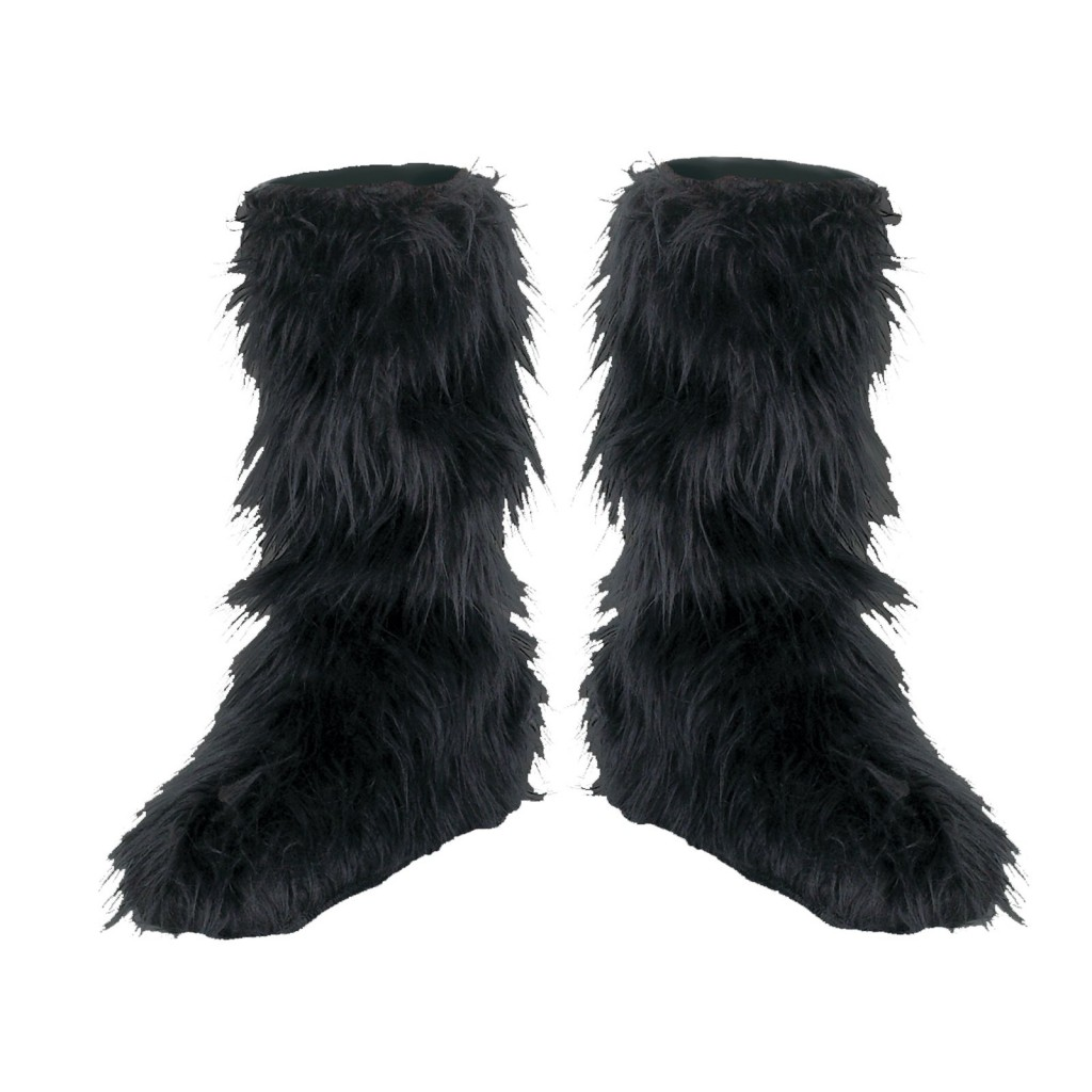 Shoes , Lovely  Furry BootsProduct Lineup : Black  Furry Snow Boots Product Image