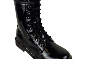 Shoes , Lovely Gothic Combat BootsProduct Ideas : black  goth combat boots product Image
