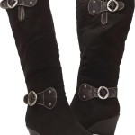 black high heel boots Product Lineup , Charming Wondrous Boot product Image In Shoes Category